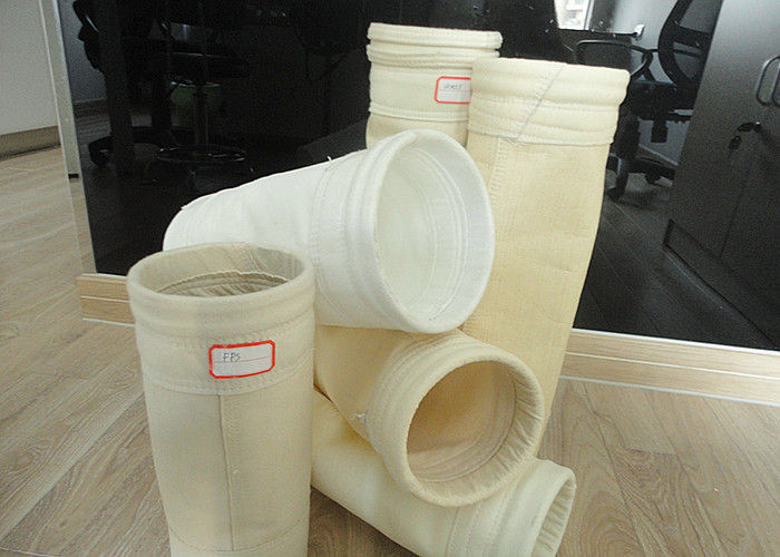 PTFE Laminating Nonwoven Needle Felt Filter Cloth Customized Size White Color