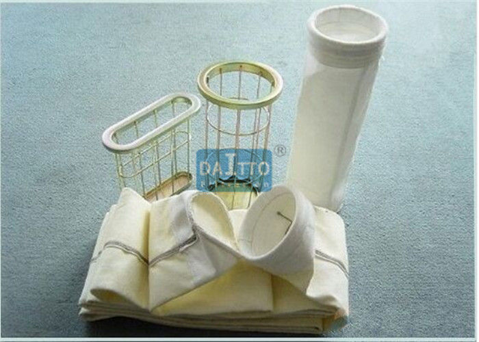 Non Woven Industrial Filter Bags P84 PTFE Acrylic Nomex PPS Materials