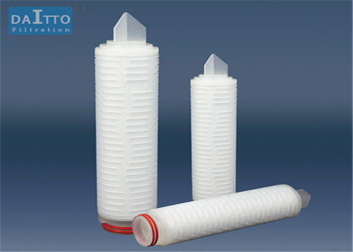 Natural Hydrophobicity Pleated Filter Cartridge 0.45 1.0um Micron Rating