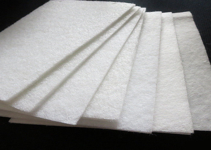 Gas Filtration 2mm Woven Filter Cloth Customized Size Needle Punched Felt