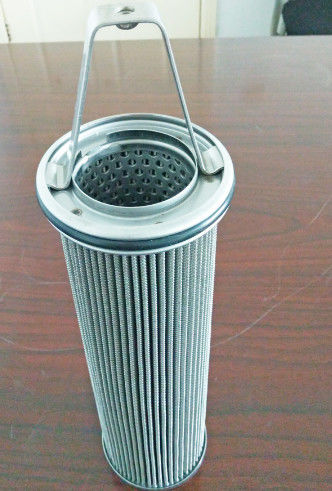 Stainless Steel Hydac Filter Element , Cartridge Basket Oil Filter 1.5W Power