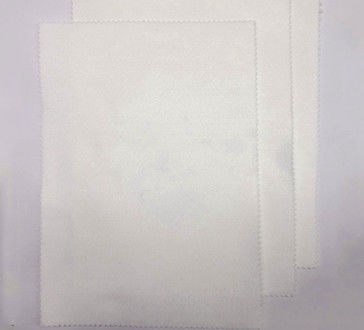 White Needle Felt Filter Cloth Polyester Overlay Membrane Filter Felt
