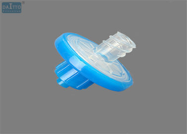 الصين 13mm 0.45um PES Syringe Filter، ميكرون Filter Syringe Low Hold Up Volume مصنع